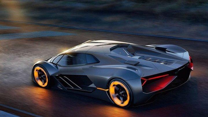 Lamborghini показал уникальный суперкар будущего