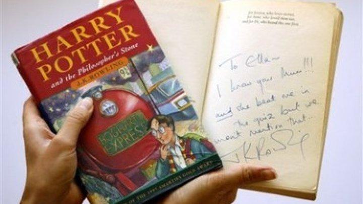 Первое издание о Гарри Поттере продано за 140 тысяч долларов