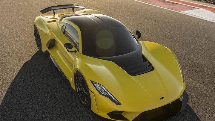 1600-сильный гиперкар Hennessey стал самым быстрым автомобилем на планете