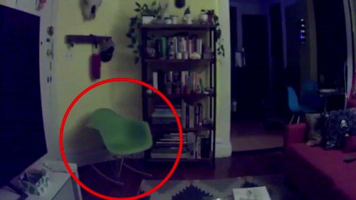 Призрак мальчика, посещающий квартиру в Нью-Йорке, попал на видео