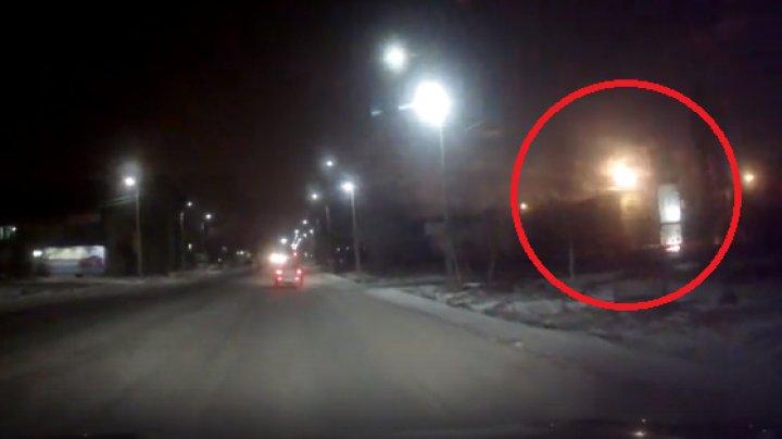 Падение метеора под Мурманском приняли за конец света: видео