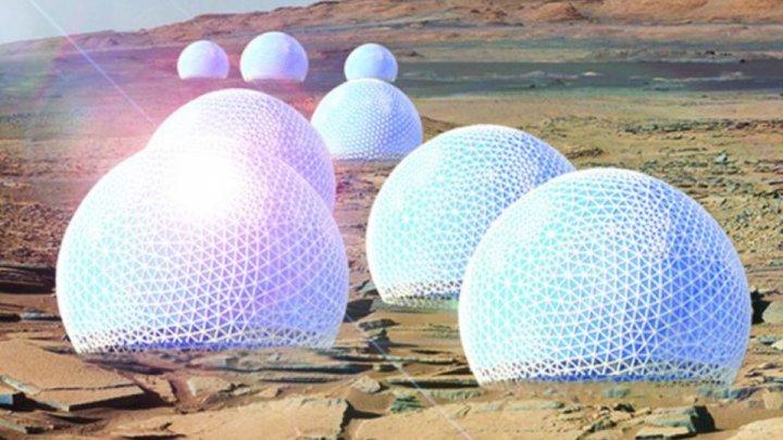 Колонисты на Марсе построят город-лес