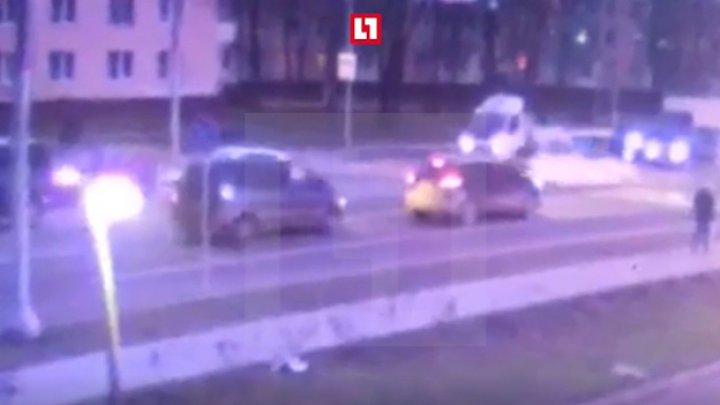 Смертельный наезд на 5-летнюю девочку с мамой в Новой Москве попал на видео (18+)