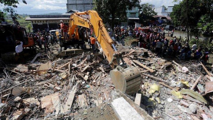 Два человека погибли в результате сильного землетрясения в Индонезии