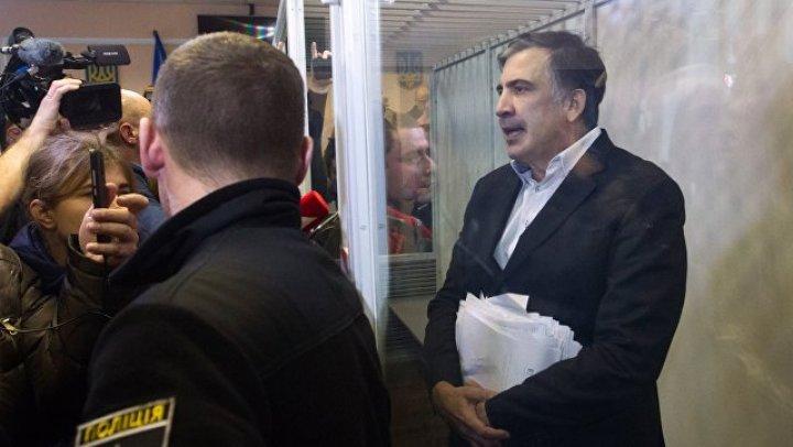 Суд в Киеве отпустил Михаила Саакашвили на свободу