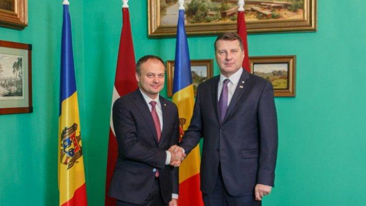 Президент Латвии заявил, что видит Молдову партнером в рамках ЕС