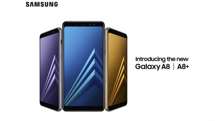 """Samsung представила """"народные флагманы"""" Galaxy A8 и A8+"""