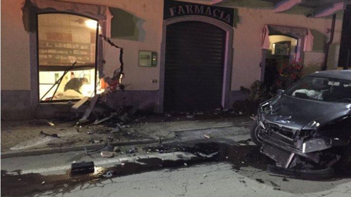 """В Италии молдаванка """"въехала"""" в здание аптеки и скрылась с места аварии"""