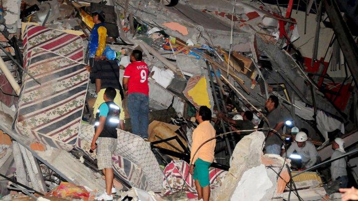 Землетрясение магнитудой 6,0 произошло у побережья Эквадора