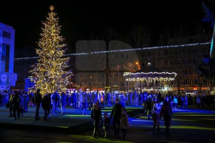 Грандиозное открытие Рождественской ярмарки: фоторепортаж