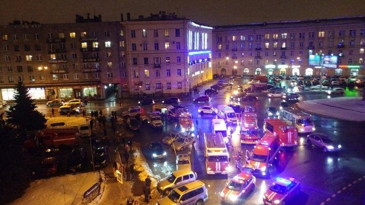 Путин назвал терактом взрыв всупермаркете «Перекресток» вПетербурге