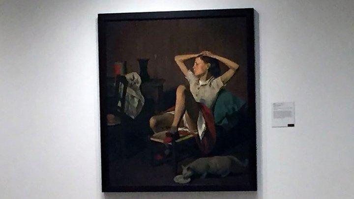 Музей отказался убрать двусмысленную картину с девочкой, несмотря на протесты