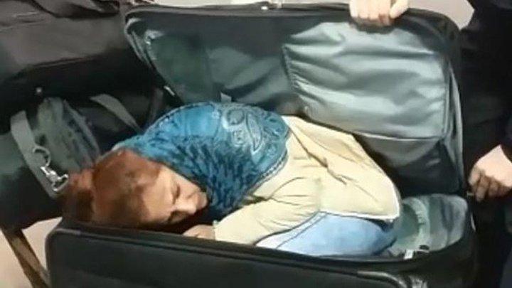 Грузин попытался вывезти женщину из Турции в чемодане