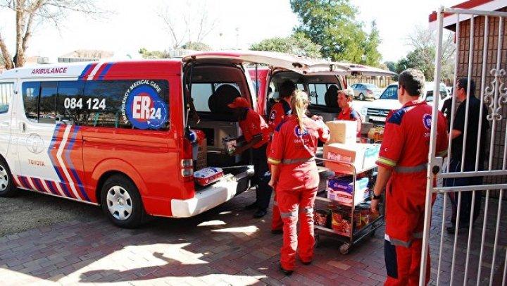 В ЮАР около 200 человек пострадали при столкновении поездов