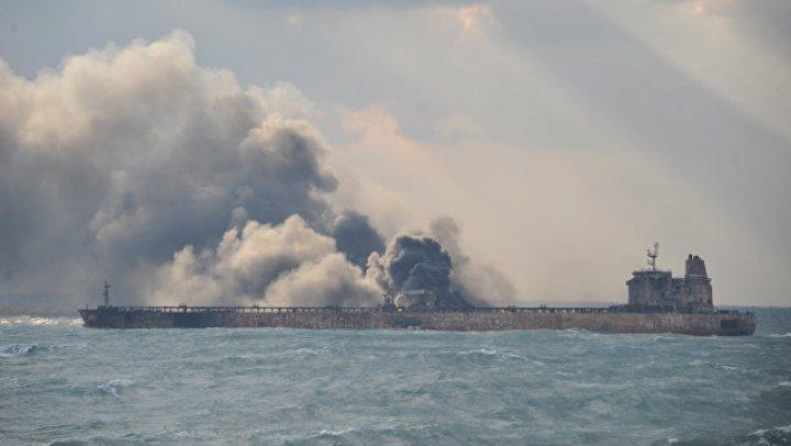 Весь экипаж иранского танкера погиб после столкновения с гонконгским сухогрузом