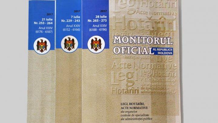 Закон о размещении на этикетах информации о продуктах опубликован в «Monitorul Oficial»