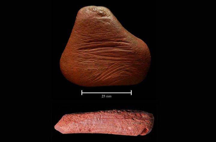 В Англии обнаружили старинный красящий пигмент ввиде мелка