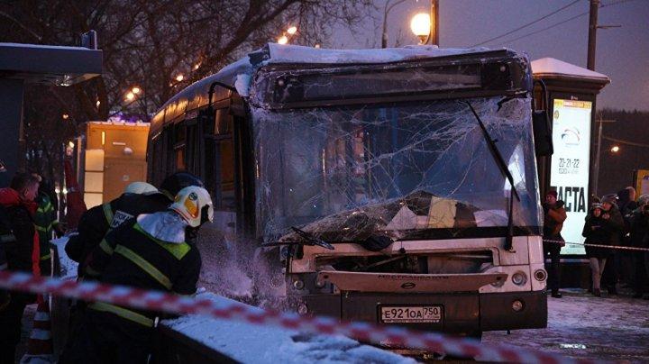 Водитель въехавшего в подземный переход в Москве автобуса не признал вину