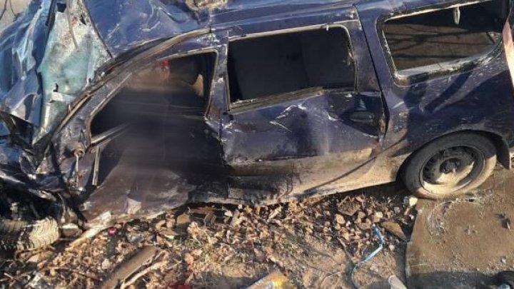 Четыре взрослых и ребёнок погибли в аварии под Новыми Аненами (шокирующее фото)
