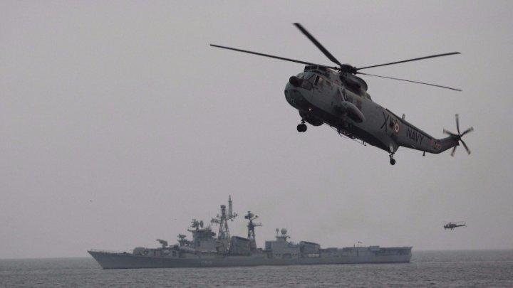 Вертолёт с нефтяниками рухнул в Аравийское море