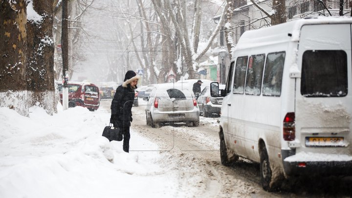 Столичные улицы-спуски закрыты из-за льда и увеличивающегося слоя снега