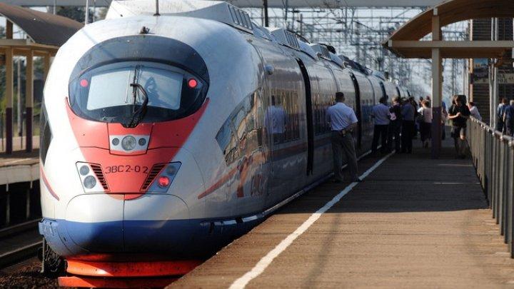 В следовавшем в Киев скоростном поезде произошло задымление