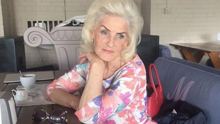 70-летняя украинская модель поделилась секретами красоты