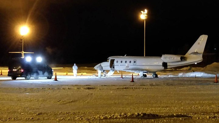 В Лапландии немецкого пилота убило дверью самолета