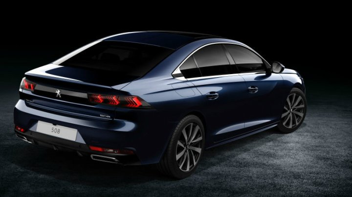 Peugeot представил новый седан 508