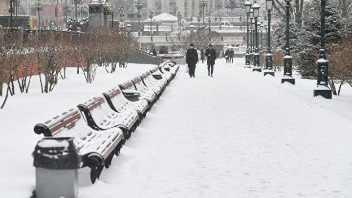 Сильные снегопады пришли в Европу