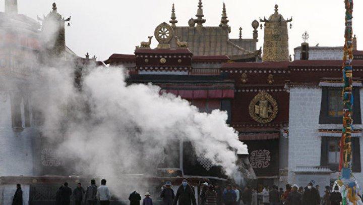 В Тибете загорелся объект всемирного наследия ЮНЕСКО