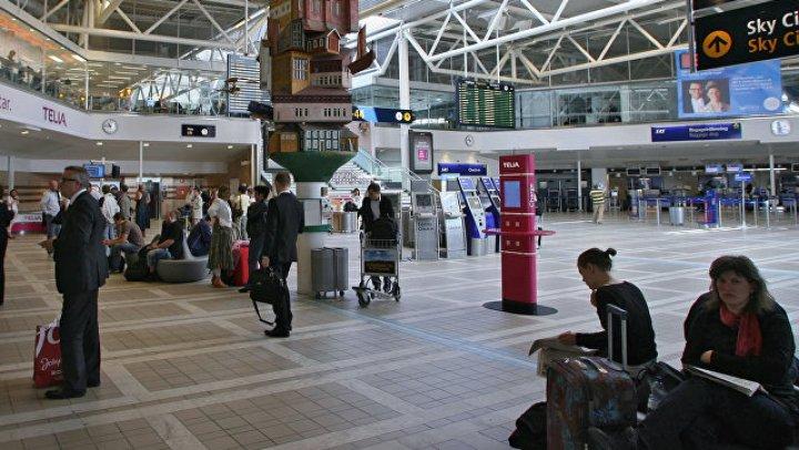 В аэропорту Стокгольма непогода привела к отмене десятков рейсов