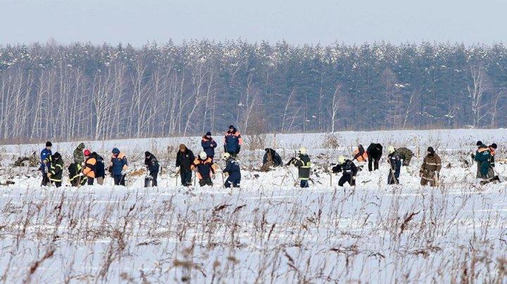 МЧС расширило зону поисковых работ на месте крушения самолета Ан-148