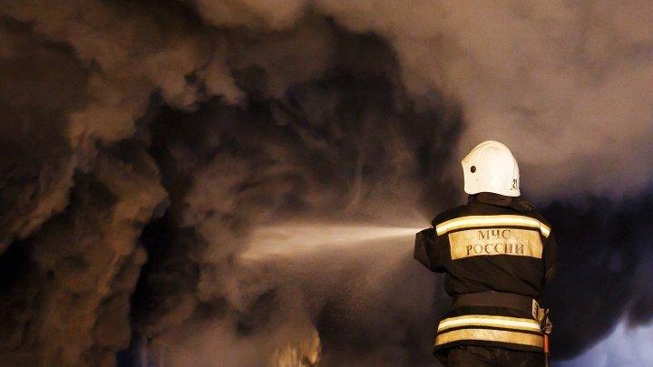 В Москве посетителей торгового центра эвакуировали после пожара в кафе