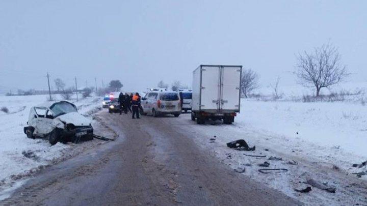 Страшная авария в Теленештском районе: два человека погибли