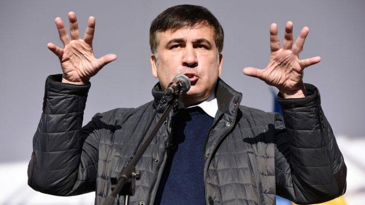 Саакашвили получил удостоверение личности в Амстердаме