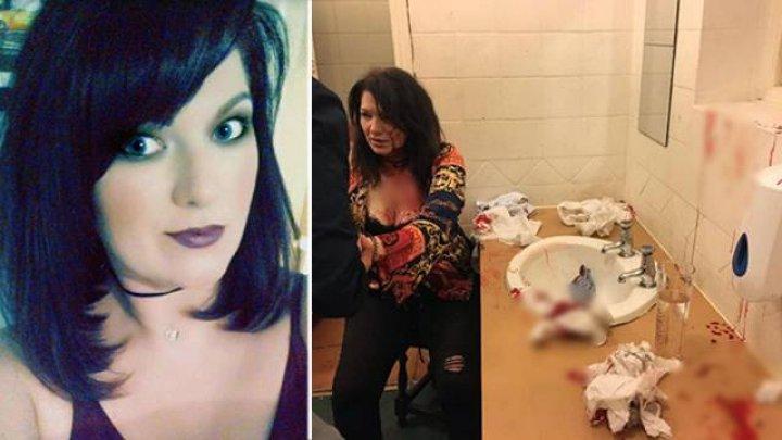 Девушка в клубе приревновала парня к другой и разбила ей голову в туалете