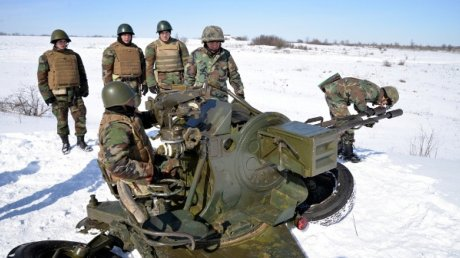 Пехотная бригада имени Штефана чел Маре провела учения на военном полигоне в Бульбоаке