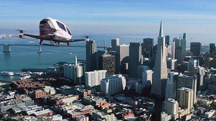 Porsche планирует начать производство дронов, используемых как воздушное такси
