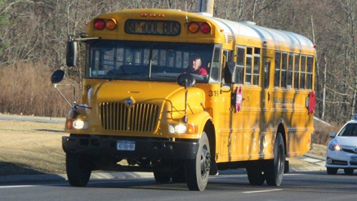 В США в пропасть упал автобус со школьниками