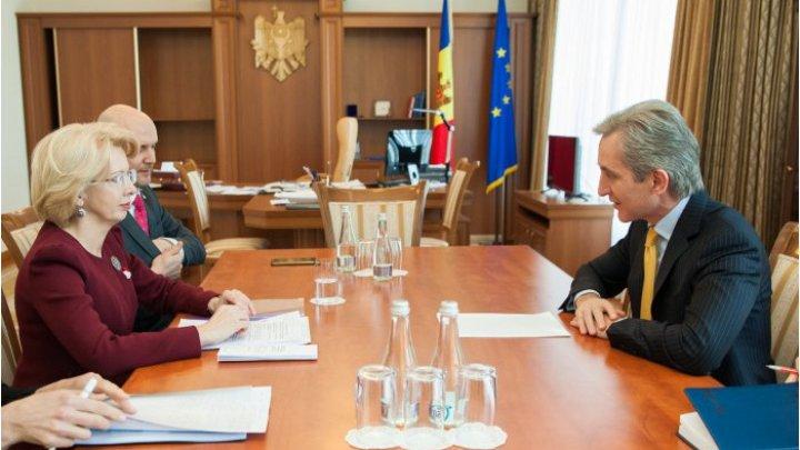 Вице-премьер Юрий Лянкэ провел встречу с председателем сейма Латвии
