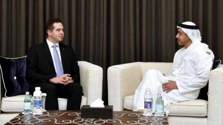 """Глава МИД ОАЭ: """"Открытие дипмисси в Абу-Даби поспособствует дальнейшему развитию молдавско-эмиратских отношений"""""""