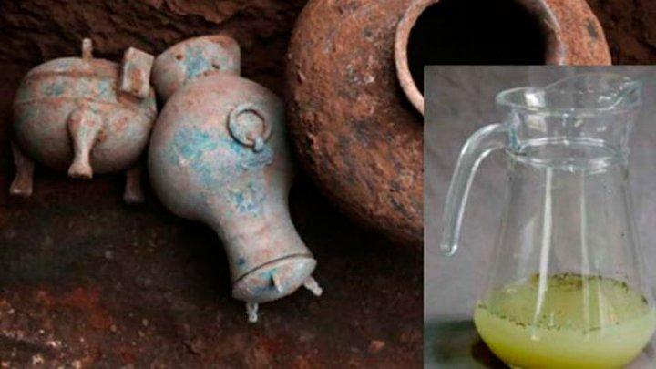 В Китае откопали алкоголь 2000-летней выдержки