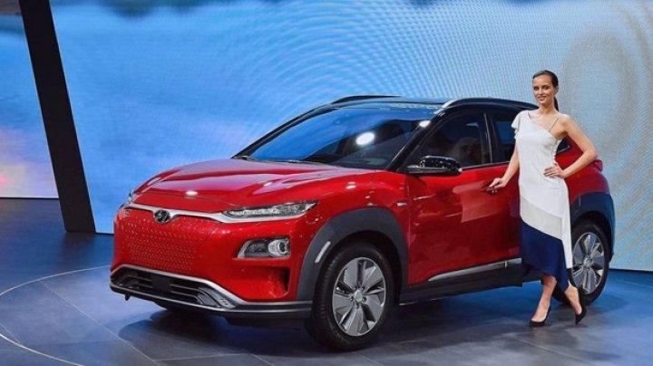 Hyundai Kona Electric представили в Женеве