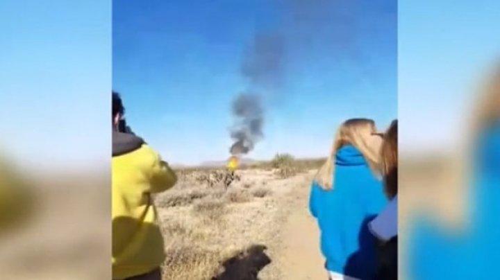 В США упал и загорелся воздушный шар с туристами