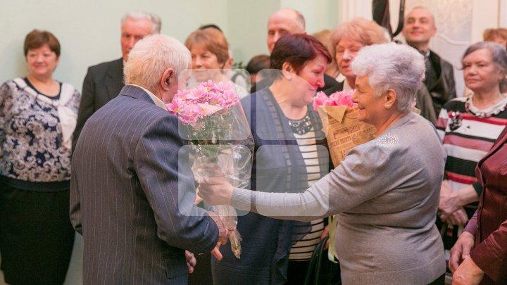 В столице более 20 пар отметили золотую и бриллиантовую свадьбы