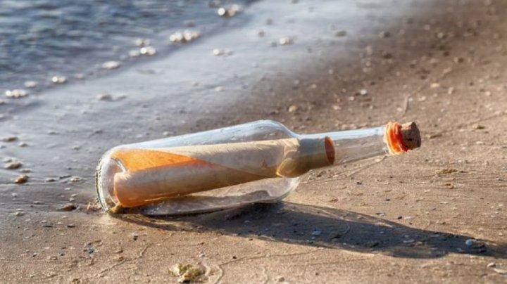 На Бермудах нашли бутылку с загадочным посланием