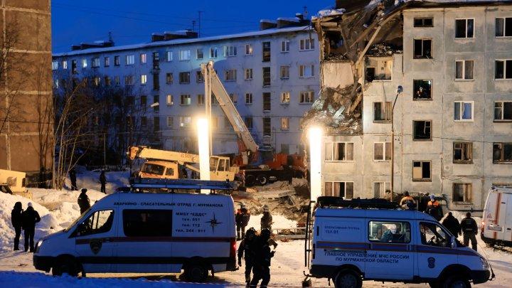 Обрушение дома в Мурманске могло произойти по вине одного из жильцов