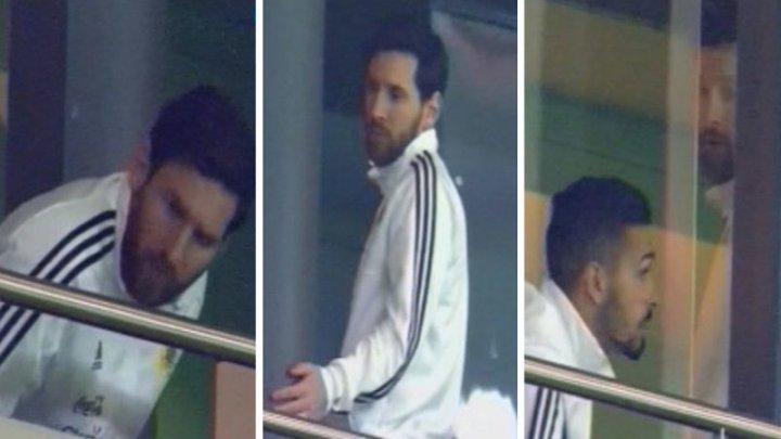 Месси не досмотрел до конца позор своей сборной в матче против Испании