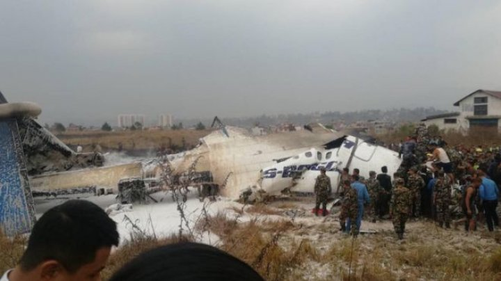 В аэропорту Непала разбился пассажирский самолет